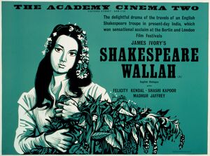 Academy Poster for James Ivory's Shakespeare Wallah (1965)