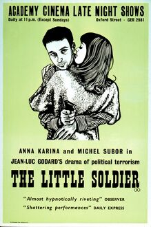 Academy Poster for Jean-Luc Godard's The Little Soldier (1960)