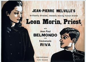 Academy Poster for Jean-Pierre Melville's Leon Morin, Priest (1961)