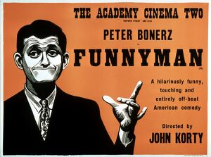 Academy Poster for John Korty's Funnyman (1967)