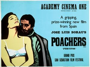 Academy Poster for Jose Luis Borau's Poachers (1975)