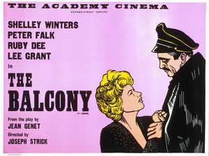 Academy Poster for Joseph Strick's The Balcony (1963)