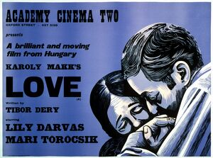 Academy Poster for Karoly Makk's Love (1971)