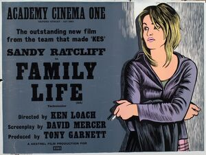 Academy Poster for Ken Loach's Family Life (1971)