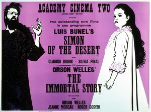 Academy Poster for Luis Bunuel's Simon of the Desert (1965)