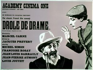 Academy Poster for Marcel Carne's Drole de Drame (1937)