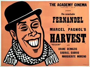 Academy Poster for Marcel Pagnol's Harvest (1937)