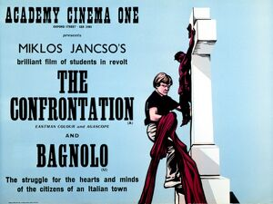 Academy Poster for Miklos Jancso's The Confrontation (1968)
