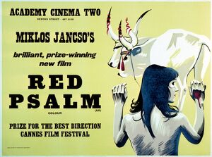 Academy Poster for Miklos Jancso's Red Psalm (1971)