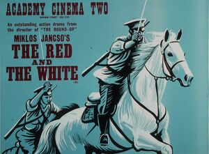 Academy Poster for Miklos Jancso's The Red and The White (1967)