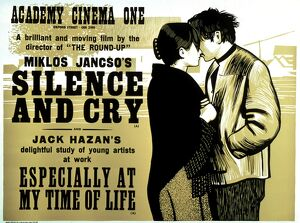 Academy Poster for Miklos Jancso's Silence and Cry (1967)