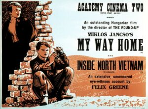 Academy Poster for Miklos Jancso's My Way Home (1964)