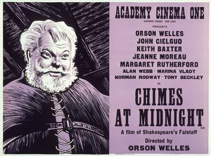 Academy Poster for Orson Welles's Chimes at Midnight (1966)
