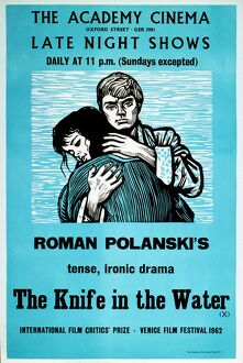 Academy Poster for Roman Polanski's The Knife in Water (1962)