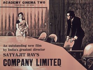 Academy Poster for Satyajit Ray's Company Limited (1971)
