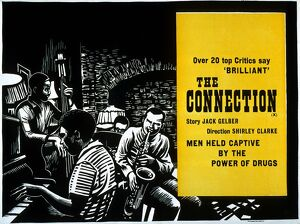 Academy Poster for Shirley Clarke's The Connection (1961)