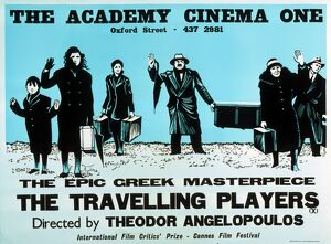 Academy Poster for Theo Agelopoulos' The Travelling Players (1975)