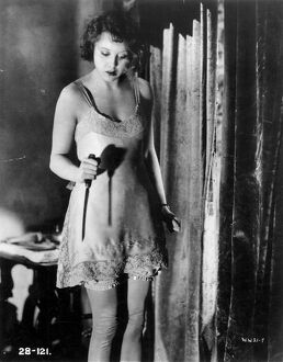 Anny Ondra in Alfred Hitchcock's Blackmail (1929)
