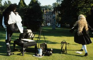 Anthony Higgins and Alastair Cumming in Peter Greenaway's The Draughtsman's