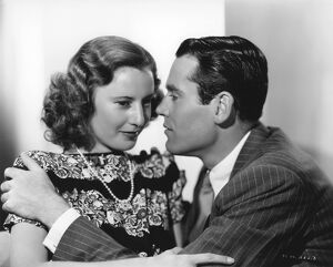 Barbara Stanwyck and Henry Fonda in Leigh Jason's The Mad Miss Manton (1938)