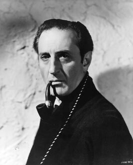 Basil Rathbone in Neill R William's The Woman in Green (1945)