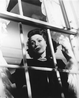 Loretta Young in Orson Welles' The Stranger (1946)