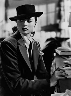 Ingrid Bergman in Alfred Hitchcock's Notorious (1946)