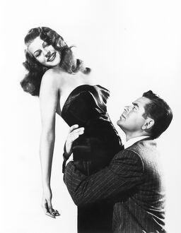 Rita Hayworth and Glenn Ford in Victor Charles' Gilda (1946)