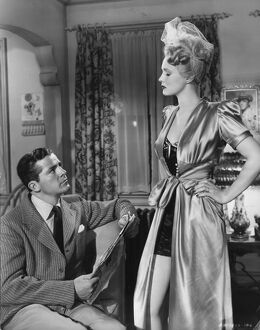 Dana Andrews and Virginia Mayo in The Best Years of Our Lives (1946)