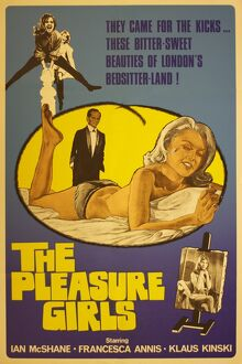 Film Poster for Gerry O'Hara's Pleasure Girls (1965)