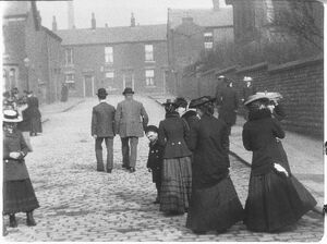 Blackburn Street Scene, 1911