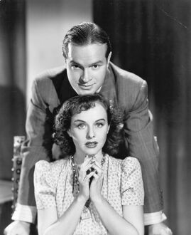 Bob Hope and Paulette Goddard in George Marshall's The Ghost Breakers (1940)
