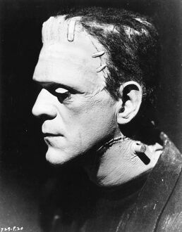Boris Karloff in James Whale's Bride of Frankenstein (1935)