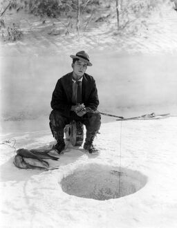 Buster Keaton in The Frozen North (1922)