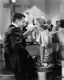 Clark Gable and Constance Bennett in Robert Z Leonard's After Office Hours (1935)