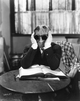 Claude Rains in James Whale's The Invisible Man (1933)