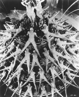 Dancers in Lloyd Bacon's Footlight Parade (1933)