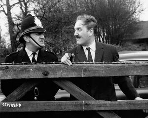 David Lodge and Bernard Cribbins in David Bracknell's Cup Fever (1965)