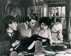 The Famous Five in Gerald Landau's Five On A Treasure Island (1957)
