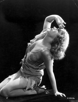 Fay Wray in Merian C Cooper's King Kong (1933)