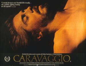 Film Poster for Derek Jarman's Caravaggio (1986)