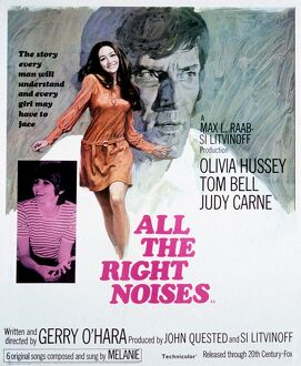 Film Poster for Gerry O'Hara's All The Right Noises (1969)