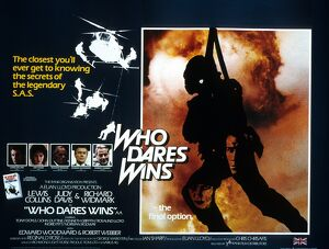 Film Poster for Ian Sharp's Who Dares Wins (1982)