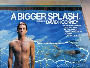 Film Poster for Jack Hazan's A Bigger Splash (1974)