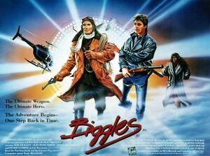 Film Poster for John Hough's Biggles (1986)