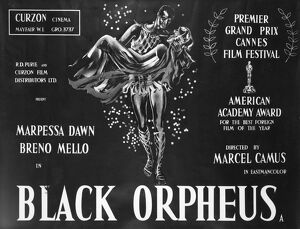 Film Poster for Marcel Camus' Black Orpheus (1958)