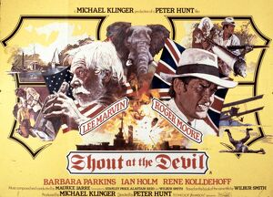 Film Poster for Peter Hunt's Shout at the Devil (1976)