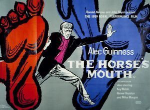 Film Poster for Ronald Neame's The Horse's Mouth (1958)