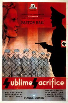 Film Poster for Roy Boulting's Pastor Hall (1940)
