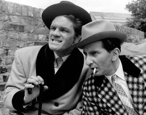Freddie Mills and Davy Kaye in Maurice Elvey's Fun at St Fanny's (1955)